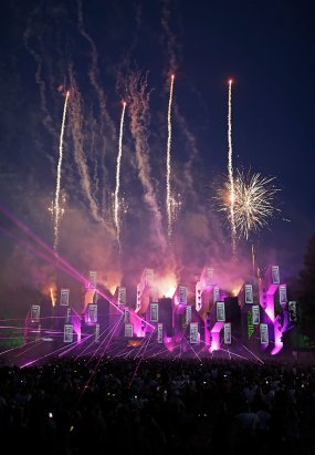 Fireworks at Awakenings