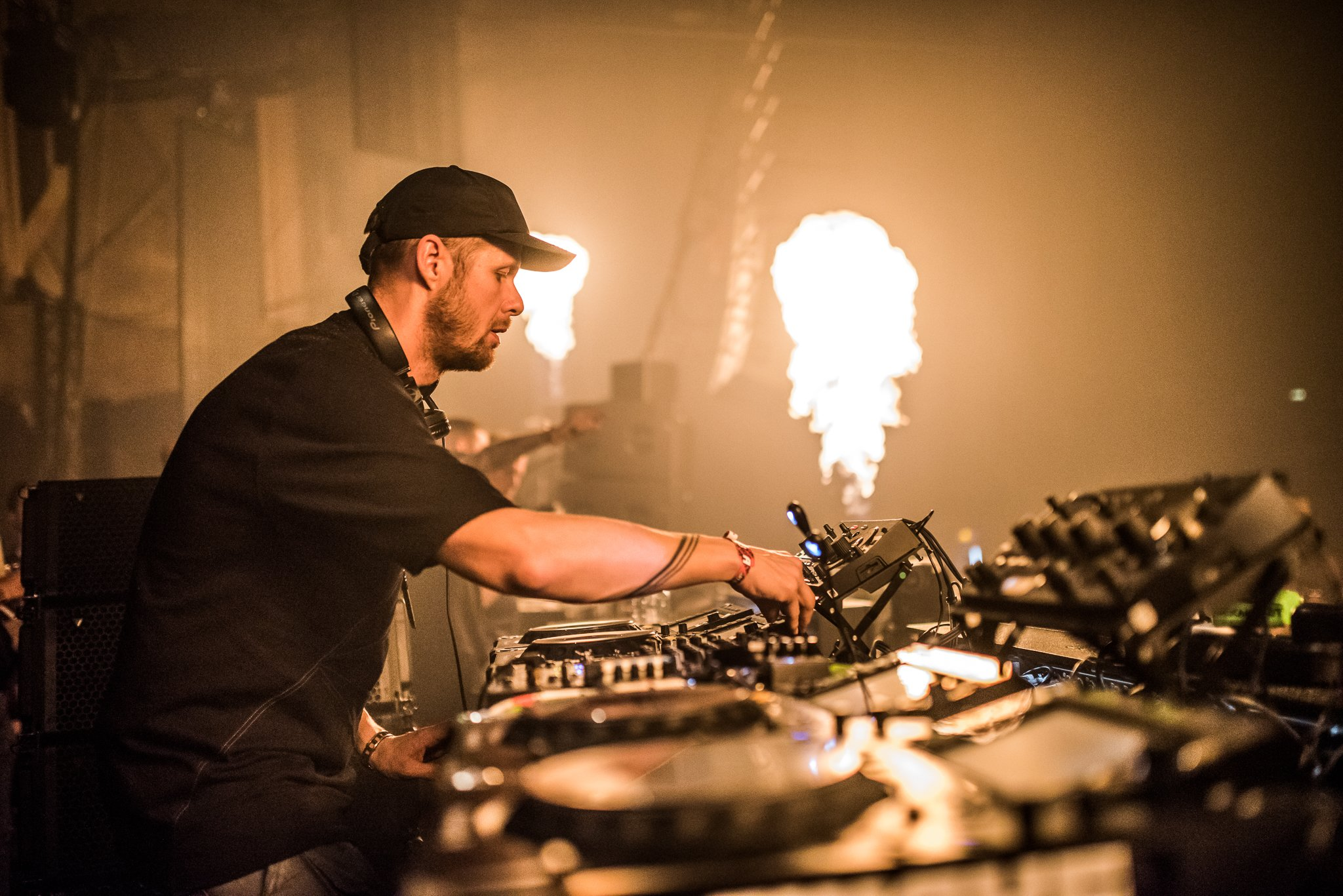 Adam Beyer at the Gashouder Amsterdam during Easter 2019. techno