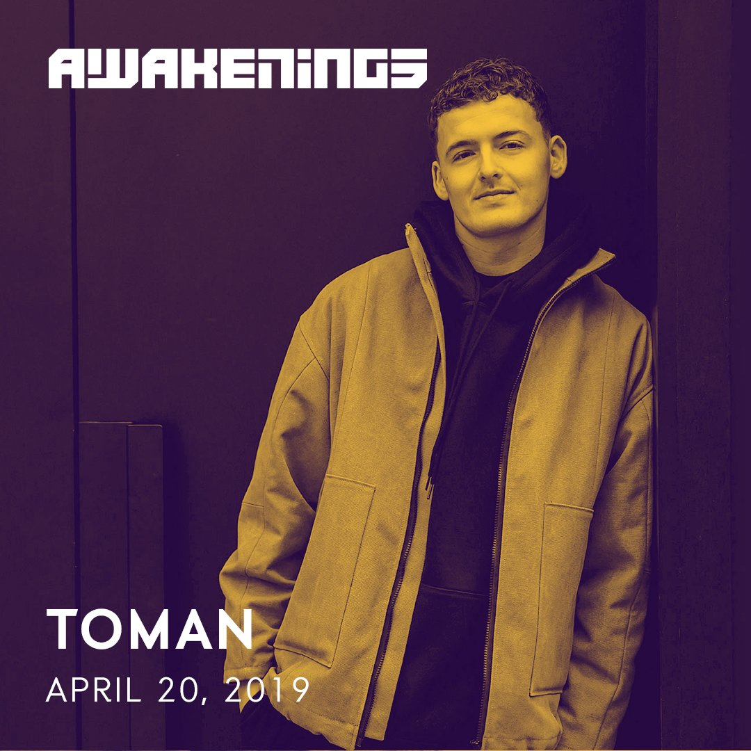 Listen to Toman his set